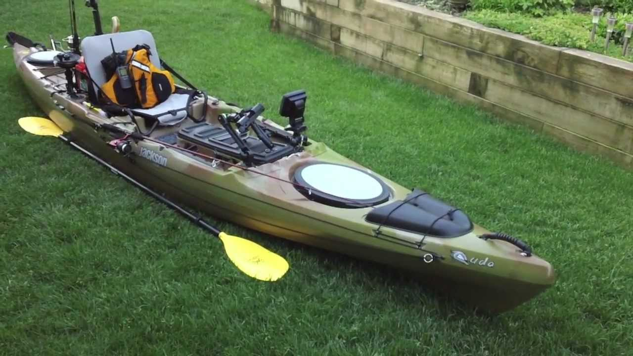 high tech fishing kayak mods video fishing rag